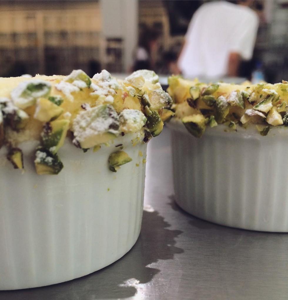 Cool lemon souffl for our guests yesterday lemonsouffl dessert cookingcoursehellip