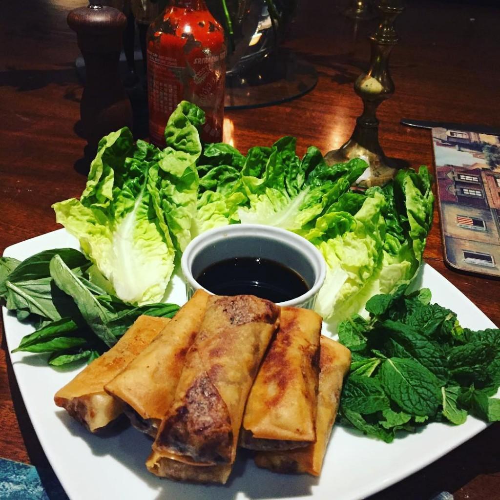 vietnamese springrolls sriracha tonightatthevenue 15off booknow