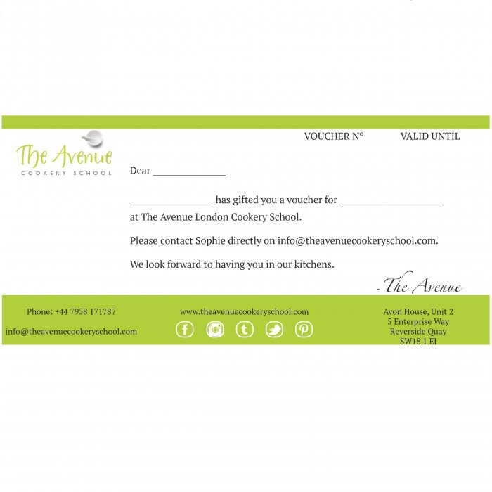 The Avenue gift voucher