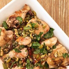 Mediterranean chicken recipe