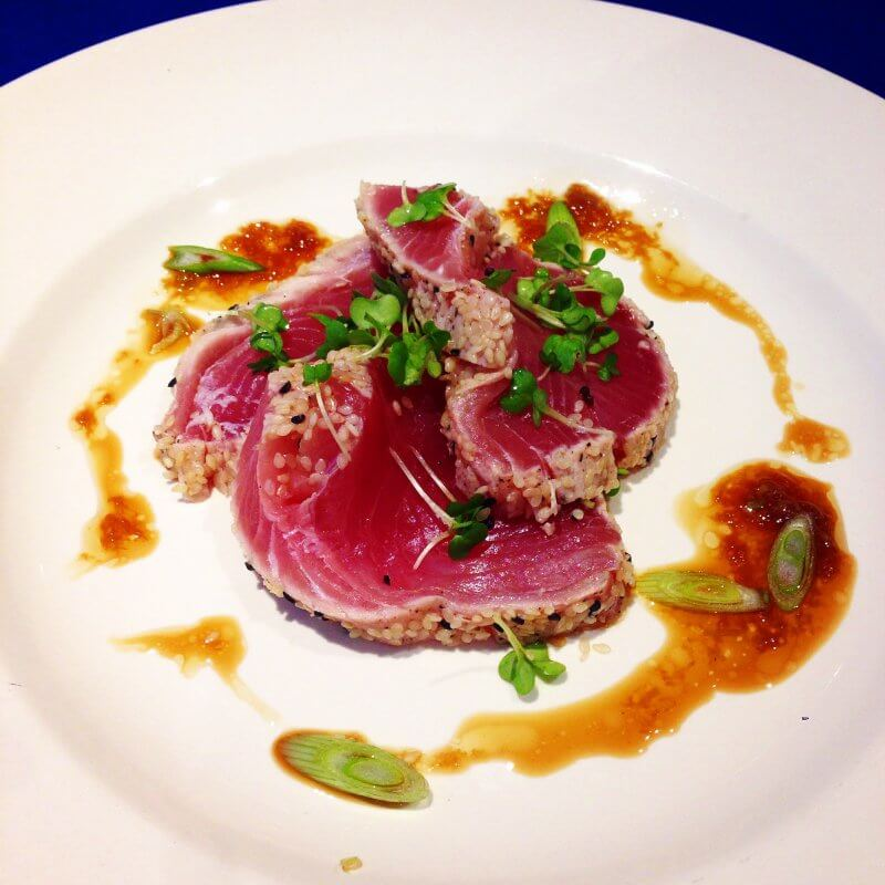 Tuna with Soy Lime Dressing