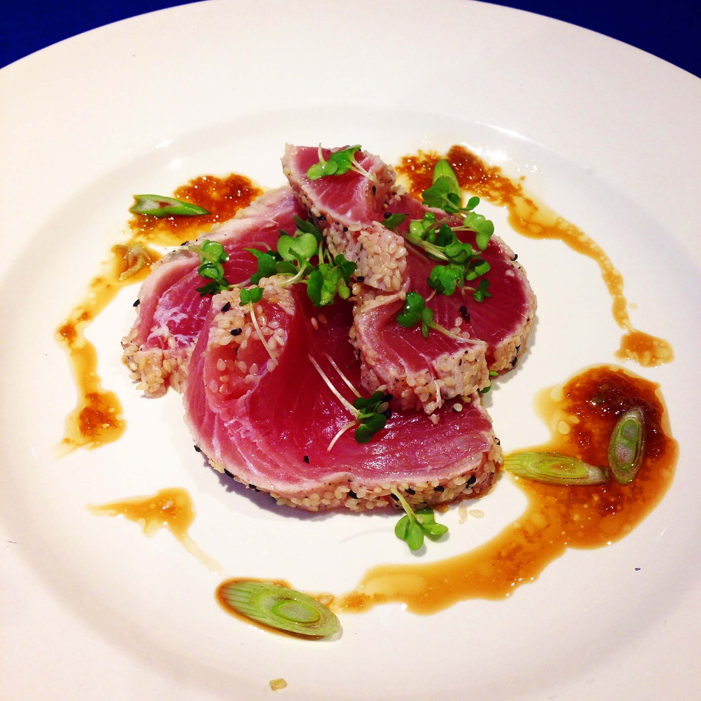 Tuna with Soy Lime Dressing - The Avenue Cookery School