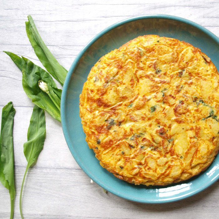 Spanish Tortilla with Romesco Sauce