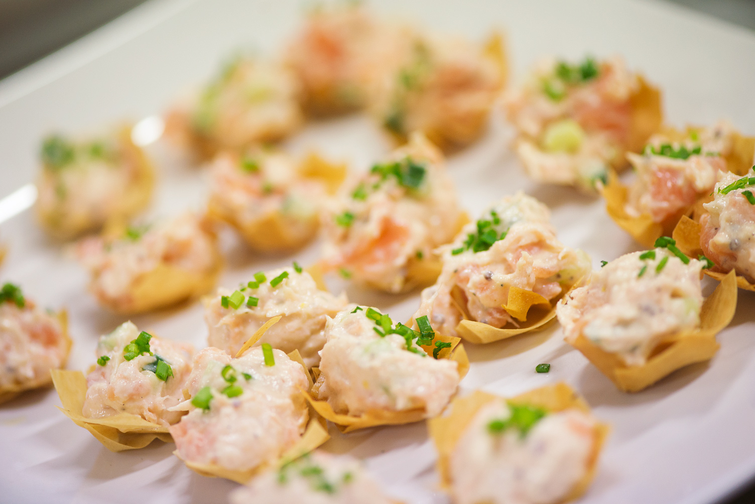 Christmas leftovers canap recipe the avenue cookery school for Salmon mousse canape
